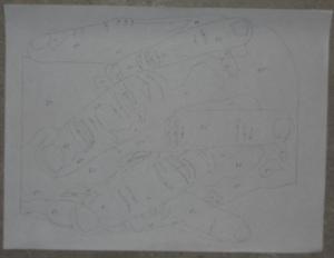 hands tracing