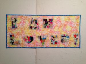 I am loved quilt