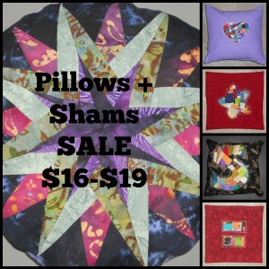 Pillows and Shams Collage