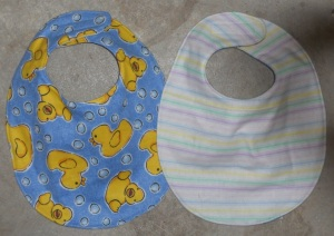 duckie bibs double sided