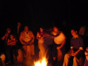 fire jas wedding