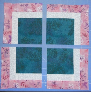 feb stash bee block cut up