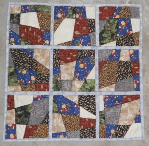 Jim's love from LA quilt