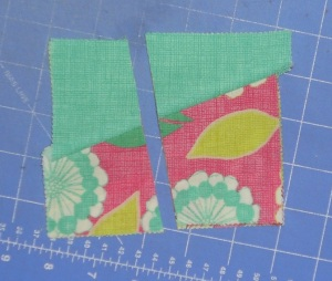 charm square quilt second cut