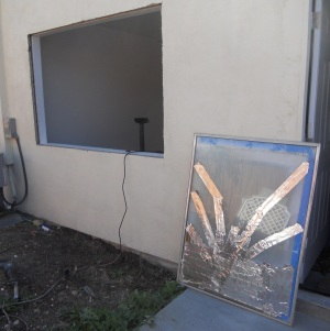 Out with the old window