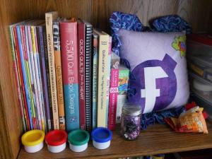 fbomb pillow shelf