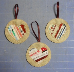 selvageheartornaments
